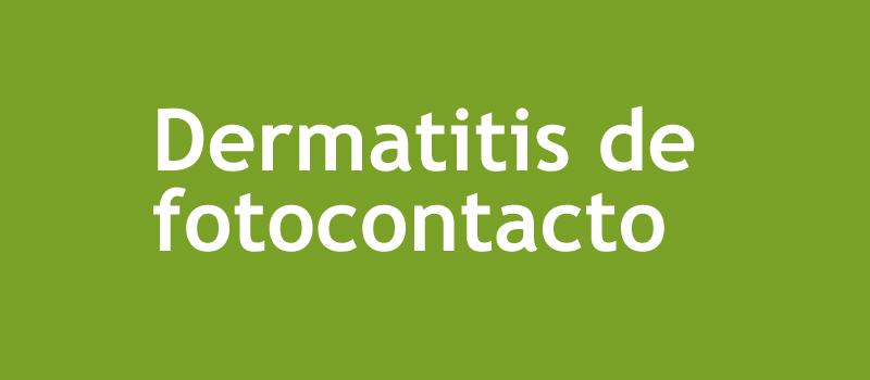 Dermatitis-de-fotocontacto